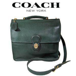 Coach Vintage Willis Station Bag Flawless Satchel